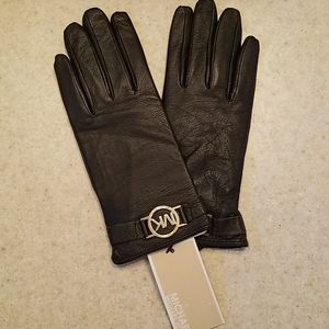 NWT Brown Leather Gloves